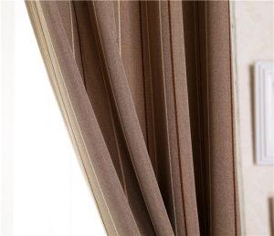 Poliéster dois tons tecido apagão cortina